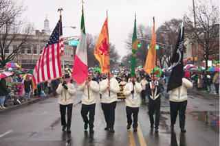 The 2000 Morristown Saint Patrick's Day Parade